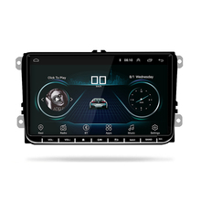 Multi-pe Sprachen 9 zoll 2Din Android 8,1 <span class=keywords><strong>DVD</strong></span> GPS Wifi Radio MP3 Auto Multimedia-Player