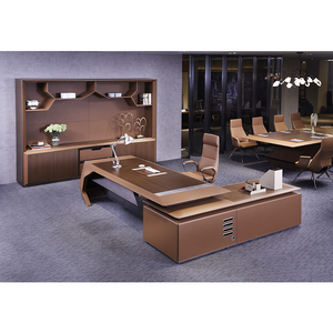 Modern executive/boss/ CEO/Chairman/Manager desk office table design executive table for office H-02