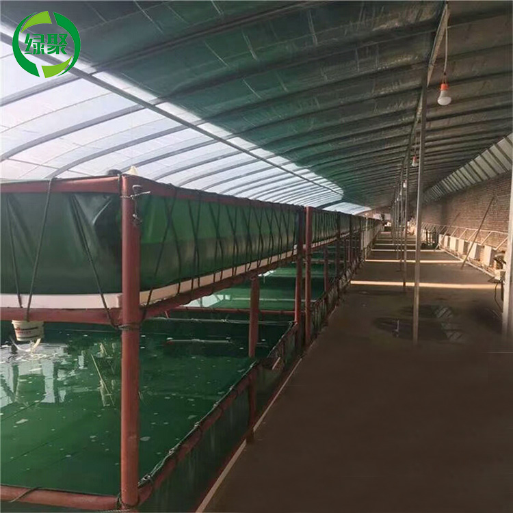 Custom Flexible And Foldable Pvc Tarpaulin Fish Tank, Pvc Coated Fabrics Waterproof Cover Tarpaulin