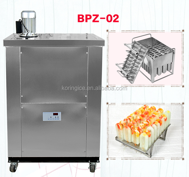 China Manufacturer High Capacity Professional Commercial Snack Ice Pop Making Machine