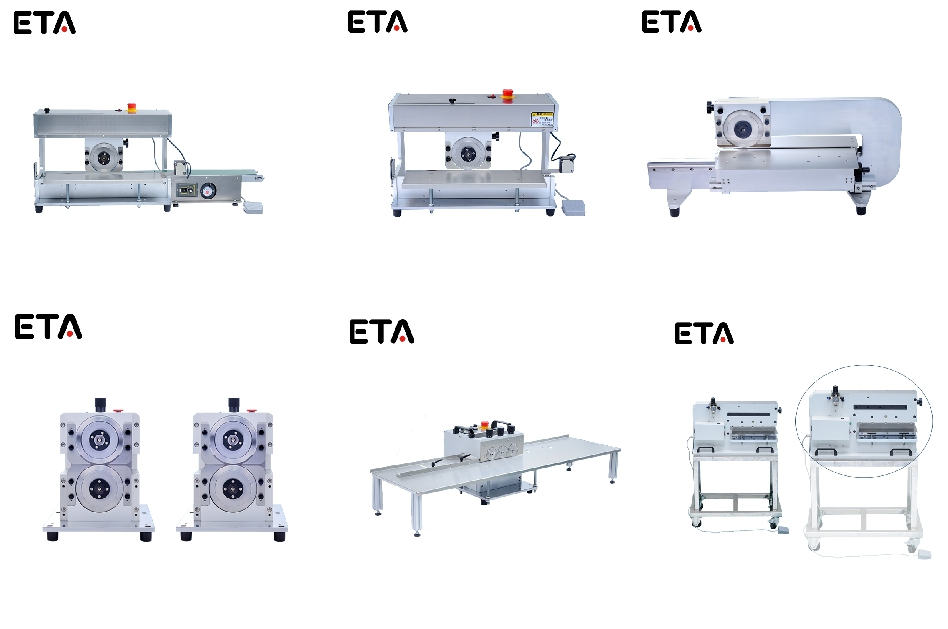 Best Sale Moving Blade PCB Cutting Machine with Conveyor Belt
