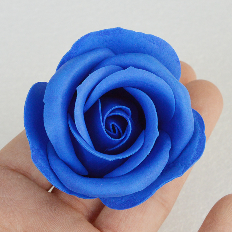 Factory price 50pcs/box soap rose artificial decorative flower rose head for Decoration or DIY GIFT