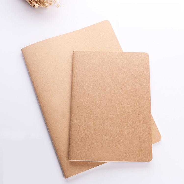 Kraft Paper Notebook A4 Car Line Book Custom B5 Student Notes Diary Book A4 Notebook Custom LOGO notebooks customizable