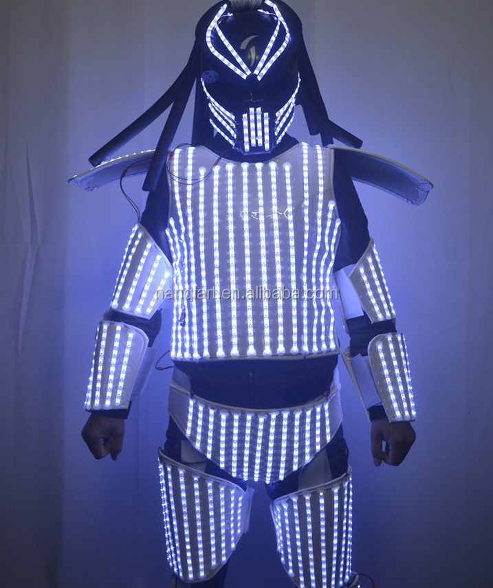 2019 Christmas Event Party Adult Size LED Dress For Performance