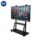 Oem Vertical Windows Network Folding Movable Educational Interactive Whiteboard