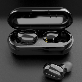 Wireless Earbuds Upgraded Bluetooth V5.0 in-Ear Stereo Quick Charge 4 Hours Playing Time Waterproof Wireless Headphones