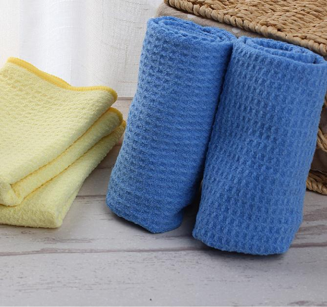 Soft Breathable Household Cleaning Fast Drying Pineapple Micro Cloths
