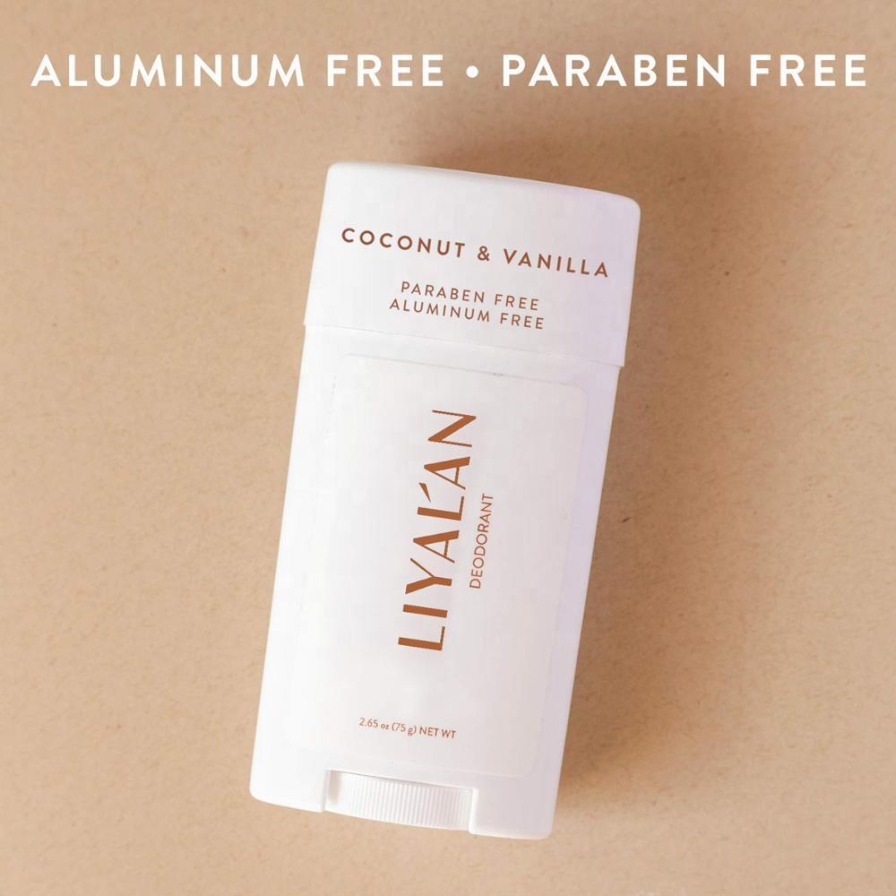LIYANLAN Factory supplier aluminum free body best deodorization organic natural deodorant stick for mens