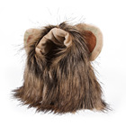 Pet Apparel Accessories Costume Dog Amazon Pet Headdress Wig Hat Cat Hood Puppy Cat Costume Lion Hood Dog Wig