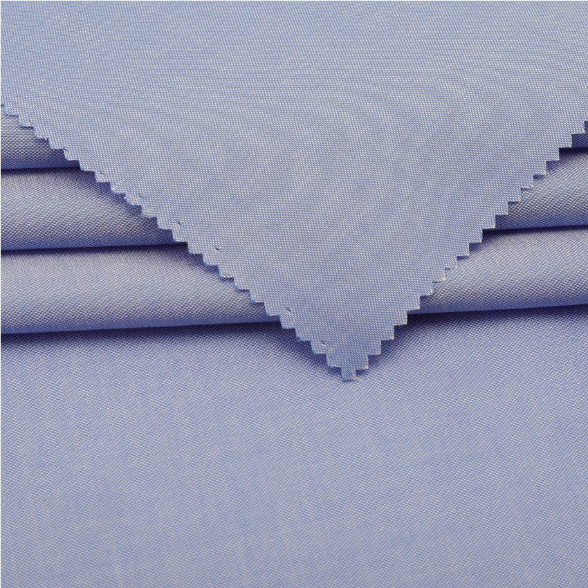 Promotion fabric 60s woven textile online shopping fabric blue 100% cotton oxford fabric