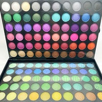 Eyeshadow 120 colors Private Label Make Up Cosmetics wholesale makeup Pressed Matte Glitter Shimmer Eyeshadow