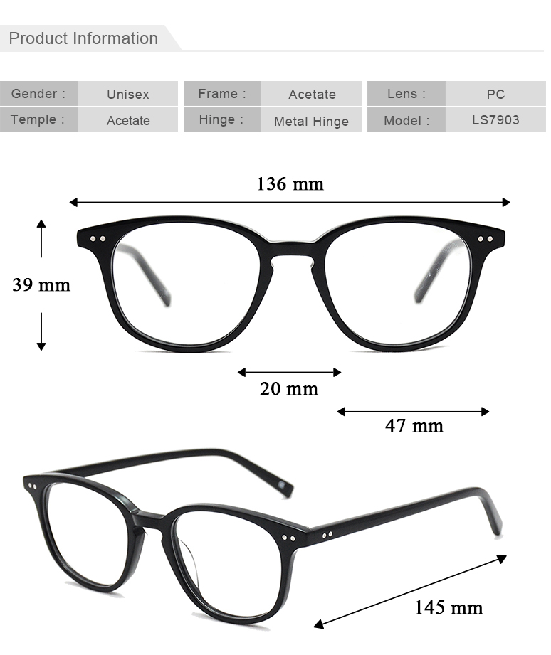 10 years experience eyewear industry china wholesale no MOQ drop shipping acetate optical glasses