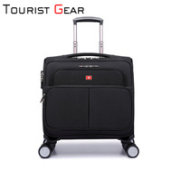 Factory wholesale high-grade nylon boarding trolley case 2020 new luggage trolley computer bags