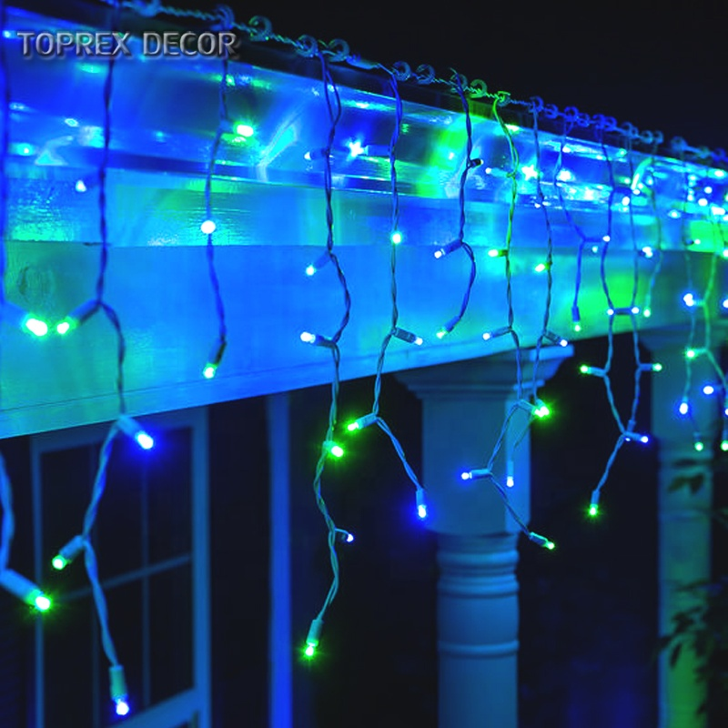christmas  decoration outdoor use  IP68 waterproof 5mm wide angle conical led string lights