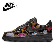 Nike Air Force 1 оригинальная новинка Женская обувь для скейтбординга удобные спортивные кроссовки # CI0919()