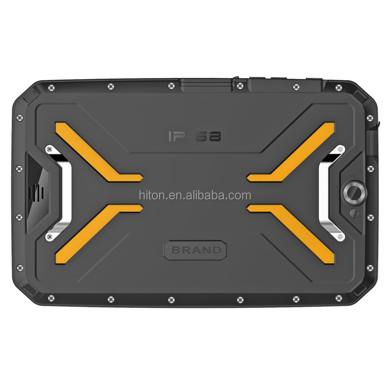 IP68 Militer Tahan Air 4G Ruggedized Android Tablet 8 Inci NFC Industri Kasar Tablet PC