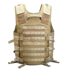 Wholesale Outdoor Sports 600D Waterproof Fabric Camouflage Military Army Molle Security Tactical Vest