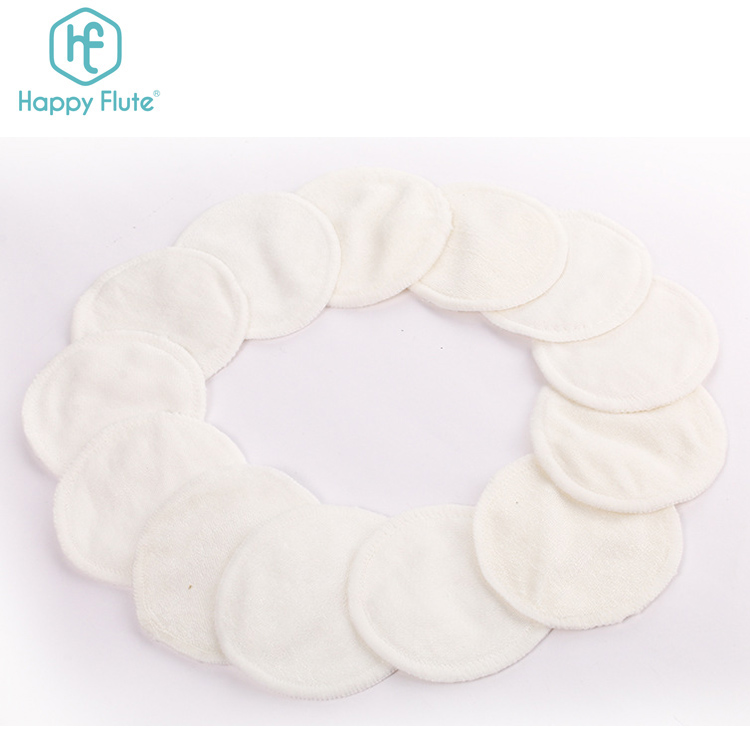RTS herbruikbare twee lagen bamboe badstof make-up remover pads milieuvriendelijke wasbare facial cleaning pads
