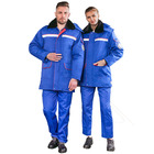 winter Professional Safety coverall anti-static work jacket Cheap boiler work labour suit
