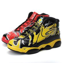 FL JUMPMORE/Новинка; Мужская баскетбольная обувь с высоким берцем; Кроссовки в стиле культуры; Мужские спортивные ботинки; Дышащая Спортивная об...(Китай)