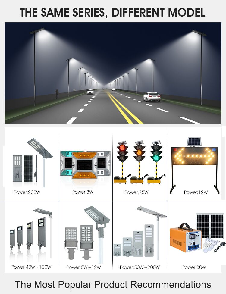 product-ALLTOP -3 Years Warranty Solar Double Sides Flashing Traffic Signal Light Warning Strobe Lig