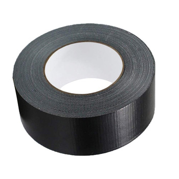 2 Inch Muti-Purpose Cloth Duct Tape Black for Fixing, Repair, Packing, Marking