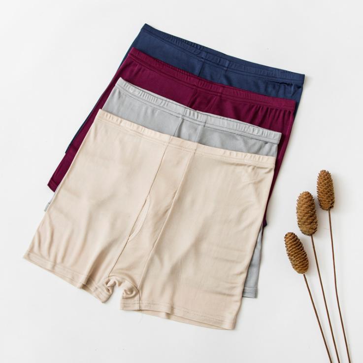Hoge Kwaliteit Viscose Zijde Blended Premium Zachte Knus Fit Ondergoed Boxer Slips Voor Mannen