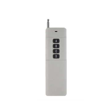 4 Channels 433 MHz fixed code rf 3km long range wireless transmitter and receiver