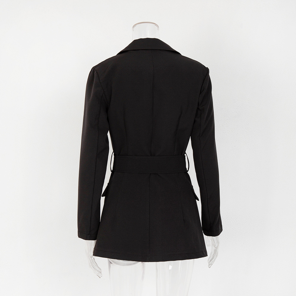 New Arrival boutique fall fashion sexy casual office outwear blazer dress for women