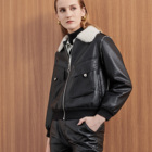 Leather Women Jacket ShuiFuRong High Quality Artificial Leather Winter Women Motorcycle Jacket