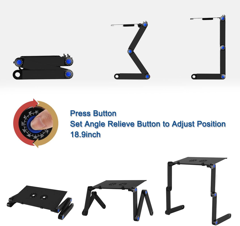 2020 резиновые изоляторы, с регулировкой по высоте, подставка для ноутбука, Алюминиевая Подставка для ноутбука, подставка для ноутбука, курятника Складная Алюминиевая Подставка для ноутбука