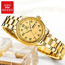 OLEVS кварцевые часы для женщин модные женские часы наручные водонепроницаемые женские часы из нержавеющей стали Роскошные Montre Femme 5567(Китай)
