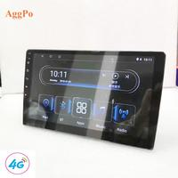 "General GPS navigation 4G device supports Google android 9 ""10"" large screen GPS system navigation DVD"