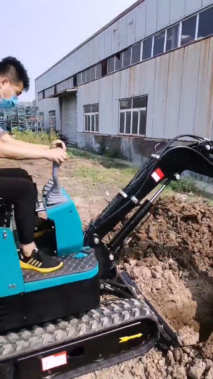 Cina mini scavatrice mini escavatore produttori di mini escavatore 0.025m3 capacità Della Benna