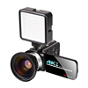 Video Camera + Wide-angle lens + LED Light