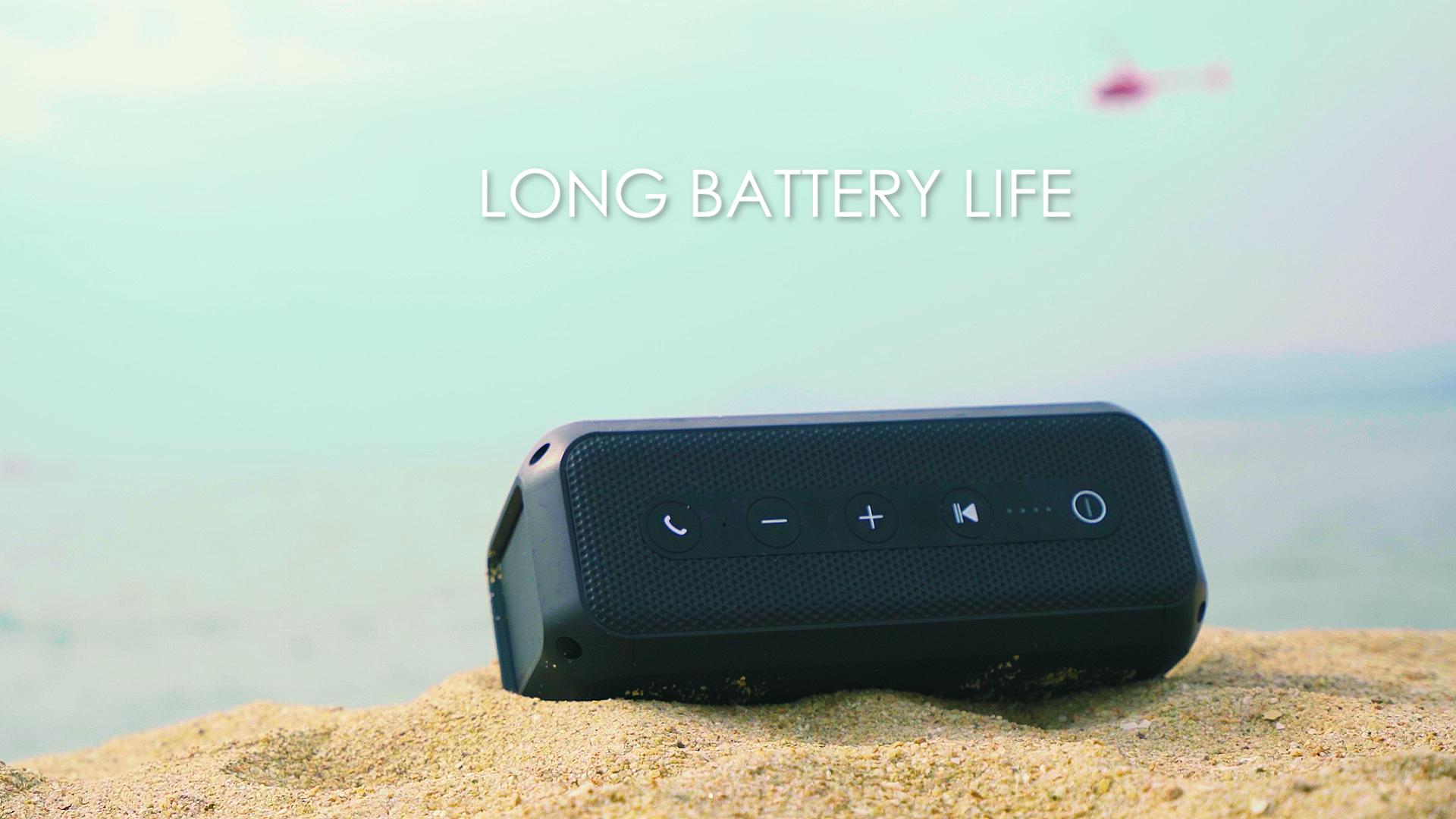 20 w כוח גדול משולב Bluetooth עגלת רמקול עם כחול שן
