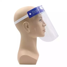 Guangzhou Factory Safety full face Anti-pollution Anti-virus transparent protective face shield mask