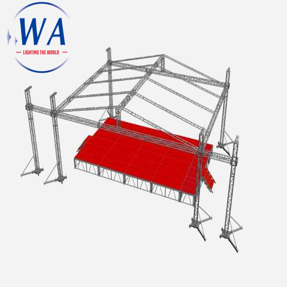 High Quality 1x2 Light Weight cheap mobile <strong>stage</strong> for sale Banquet aluminum folding chorus <strong>stage</strong>