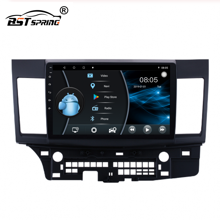 Bosstar Android Car DVD Player GPS Per Mitsubishi LANCER 2014 Auto Radio Player