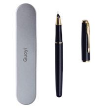 Guoyi A300 Роскошная чернильная авторучка 0,38 мм металлическая Высококачественная деловая офисная Подарочная авторучка с фирменным логотипом(Китай)