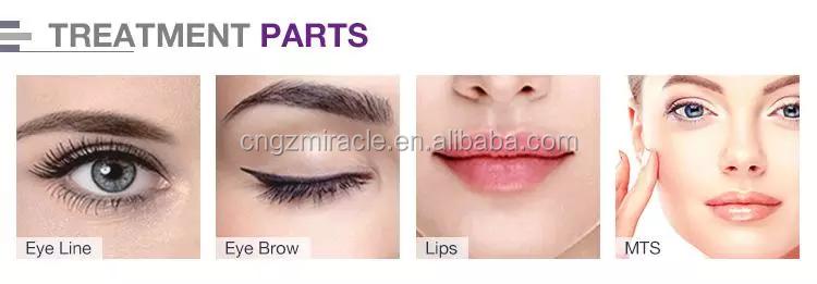 Artmex V6 Langsung dan Toko Jarum Tato Digital Makeup Permanen Alis Mesin Profesional