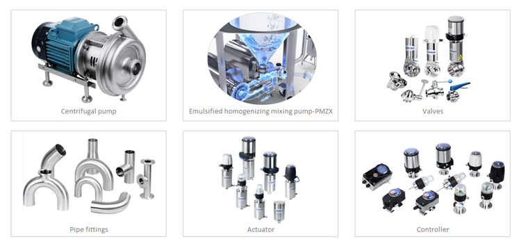 DONJOY Mechanical variable positive pump for bio-pharmaceutical products