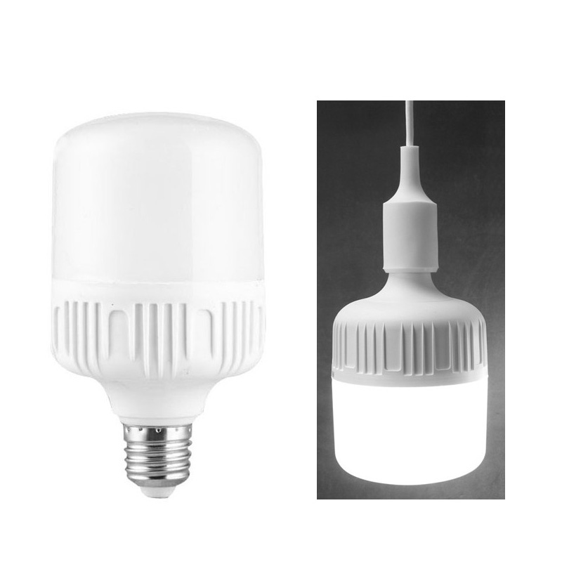 High Power 3000k 4000k 6000k 7000k 10000k pf0.9 E27 B22 E40 10w 20w 30w 40w 50w 60w big cylinder dimmable T led bulb