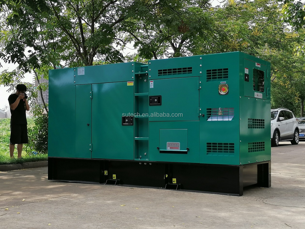 Open or silent closed 100kva diesel generator price with engine 6BT5.9-G2 Cummins power generator 80kw