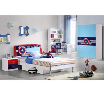 Captain America Teens Bedroom Furniture Sets - Buy America Bedroom  Furniture Set,Teen Modern Bedroom Set,America Furniture Bedroom Sets  Product on ...