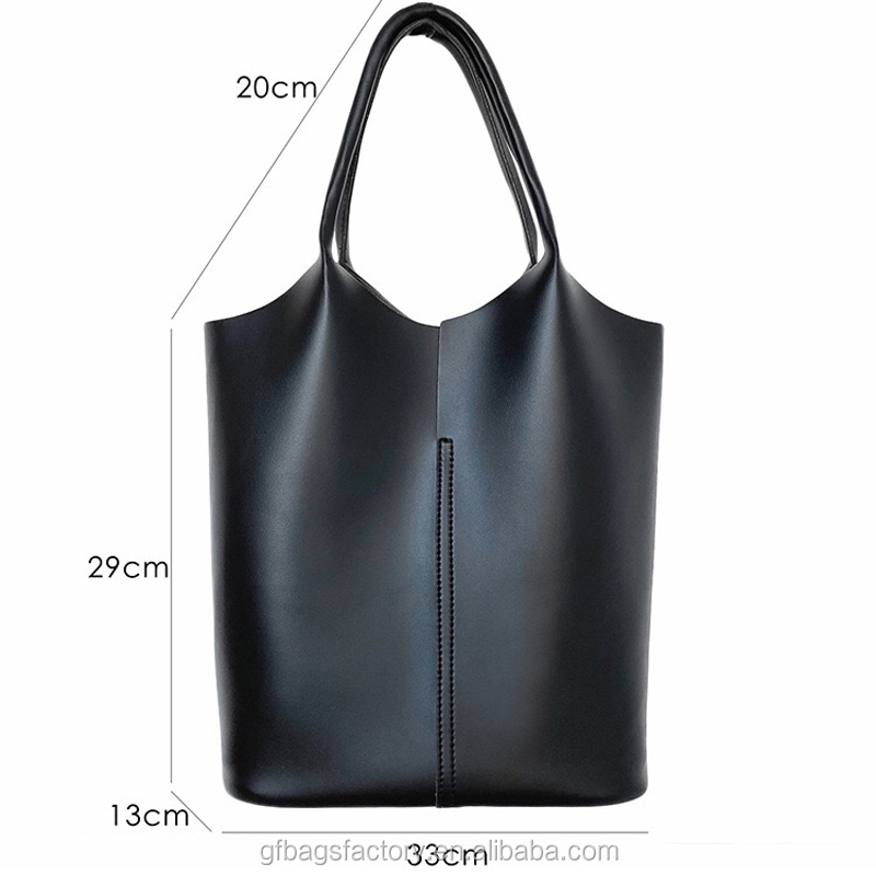 2019 hight quality fashion design pu leather handbag tote bag for women