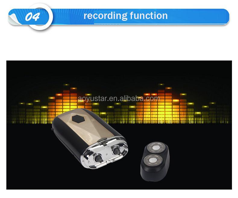 Mannen remote monitoring FULL hd Mini Audio Video Recorder 1080P Real Elektrische Scheerapparaat Scheermes Wifi Verborgen camera P2P IP SPY Camera