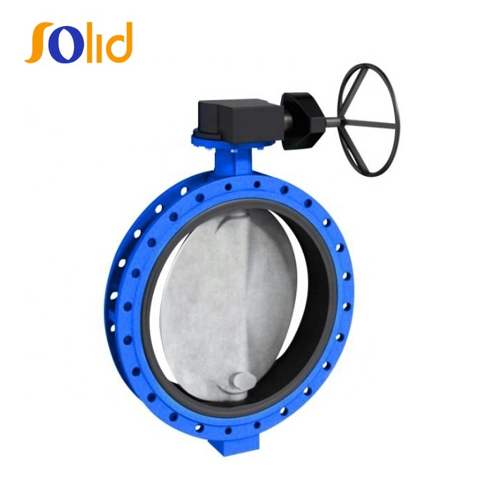 Ductile Iron U Type Flanged Centerline Butterfly Valves