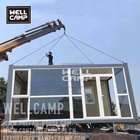 Wellcamp low cost flat pack container house site construction office sandwich panel portable office cabin