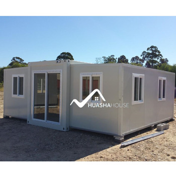 2 bed room prefab container house China mobile homes modern 2bedroom